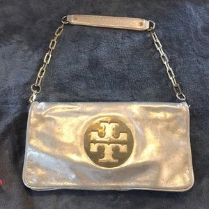 Tory Burch gold purse